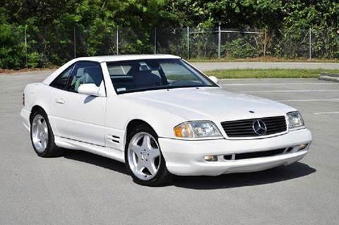 2001 Mercedes-Benz SL-Class for sale at MIAMI IMPORTS in Miami FL