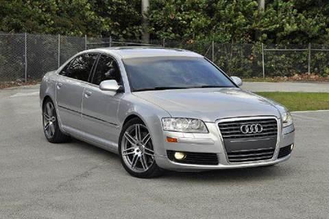 2006 Audi A8 for sale at MIAMI IMPORTS in Miami FL