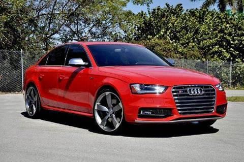 2013 Audi S4 for sale at MIAMI IMPORTS in Miami FL