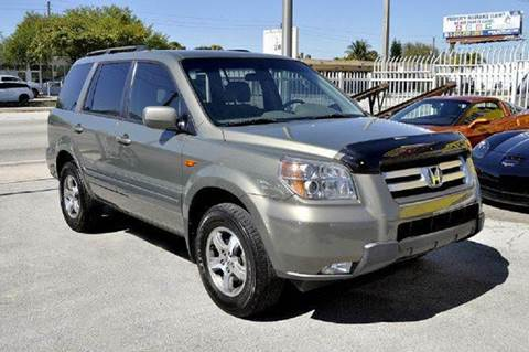 2007 Honda Pilot for sale at MIAMI IMPORTS in Miami FL