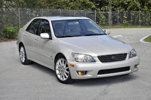 2004 Lexus IS 300 for sale at MIAMI IMPORTS in Miami FL