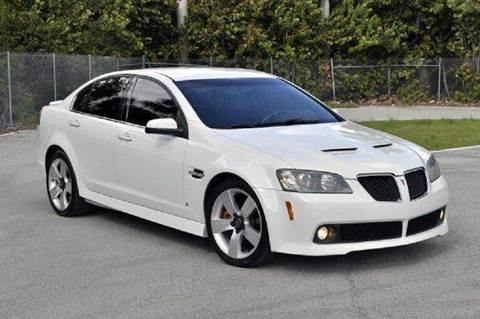 2009 Pontiac G8 for sale at MIAMI IMPORTS in Miami FL