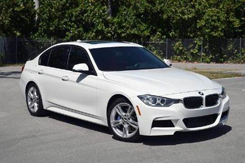 2013 BMW 3 Series for sale at MIAMI IMPORTS in Miami FL