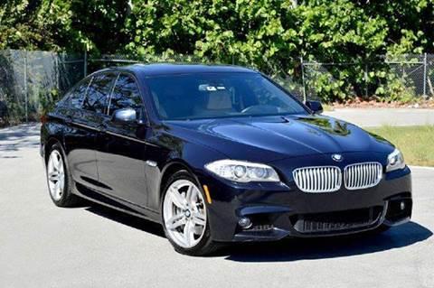 2012 BMW 5 Series for sale at MIAMI IMPORTS in Miami FL