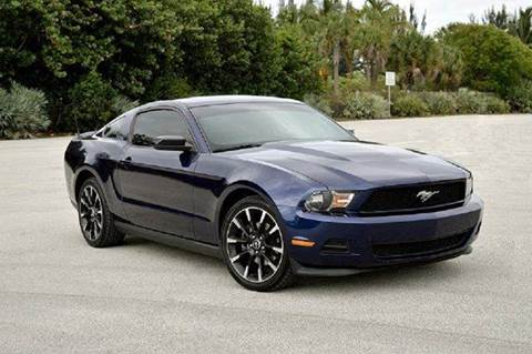 2012 Ford Mustang for sale at MIAMI IMPORTS in Miami FL