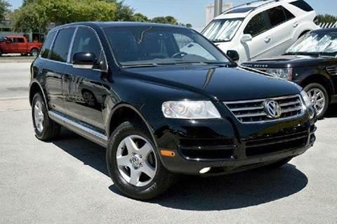 2007 Volkswagen Touareg for sale at MIAMI IMPORTS in Miami FL
