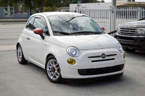2014 FIAT 500 for sale at MIAMI IMPORTS in Miami FL