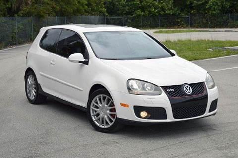 2006 Volkswagen GTI for sale at MIAMI IMPORTS in Miami FL