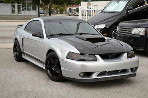2001 Ford Mustang for sale at MIAMI IMPORTS in Miami FL