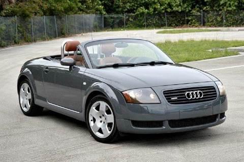 2001 Audi TT for sale at MIAMI IMPORTS in Miami FL