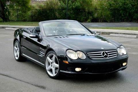 2006 Mercedes-Benz SL-Class for sale at MIAMI IMPORTS in Miami FL