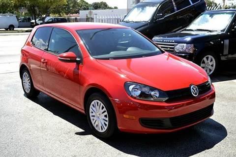 2011 Volkswagen Golf for sale at MIAMI IMPORTS in Miami FL