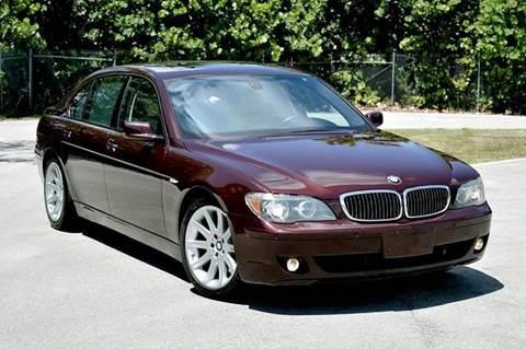 2006 BMW 7 Series for sale at MIAMI IMPORTS in Miami FL