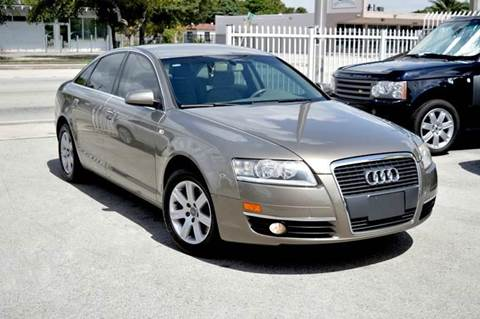 2006 Audi A6 for sale at MIAMI IMPORTS in Miami FL