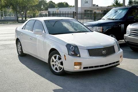 2005 Cadillac CTS for sale at MIAMI IMPORTS in Miami FL