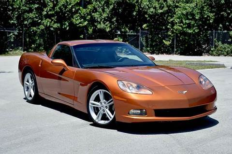 2009 Chevrolet Corvette for sale at MIAMI IMPORTS in Miami FL