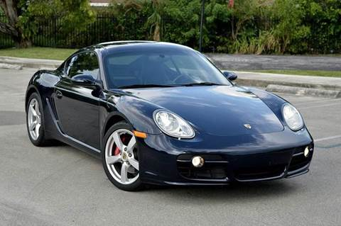 2007 Porsche Cayman for sale at MIAMI IMPORTS in Miami FL