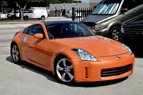 2007 Nissan 350Z for sale at MIAMI IMPORTS in Miami FL