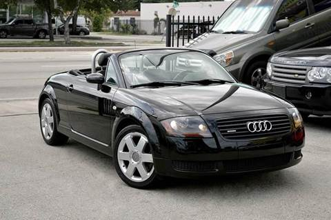 2002 Audi TT for sale at MIAMI IMPORTS in Miami FL