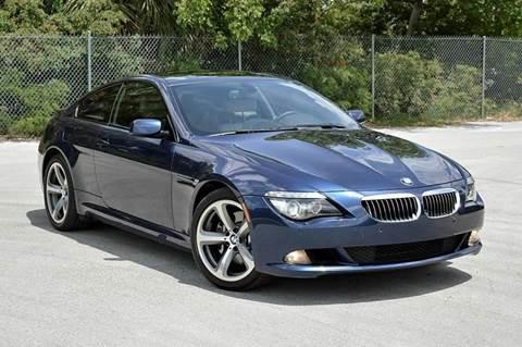2010 BMW 6 Series for sale at MIAMI IMPORTS in Miami FL