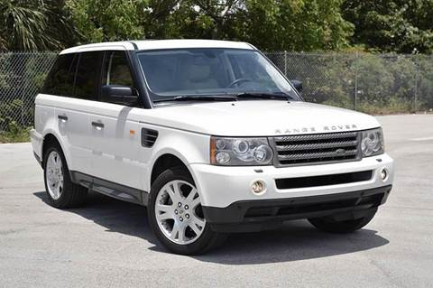 2006 Land Rover Range Rover Sport for sale at MIAMI IMPORTS in Miami FL