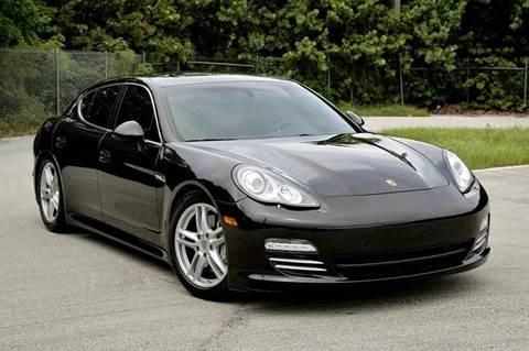 2011 Porsche Panamera for sale at MIAMI IMPORTS in Miami FL