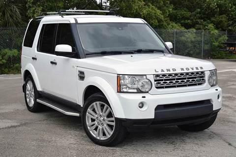 2011 Land Rover LR4 for sale at MIAMI IMPORTS in Miami FL