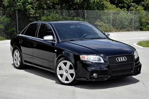 2005 Audi S4 for sale at MIAMI IMPORTS in Miami FL