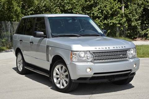 2007 Land Rover Range Rover for sale at MIAMI IMPORTS in Miami FL
