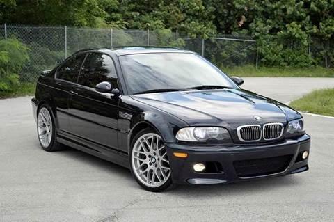 2003 BMW M3 for sale at MIAMI IMPORTS in Miami FL