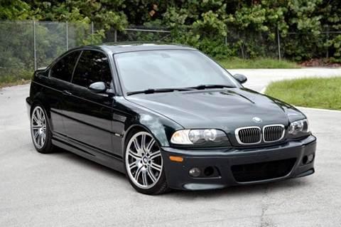 2002 BMW M3 for sale at MIAMI IMPORTS in Miami FL