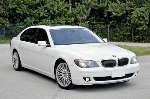 2007 BMW 7 Series for sale at MIAMI IMPORTS in Miami FL