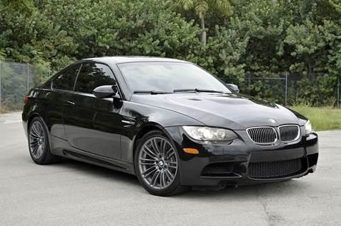 2009 BMW M3 for sale at MIAMI IMPORTS in Miami FL
