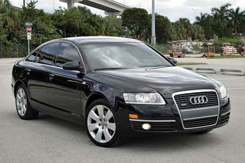 2005 Audi A6 for sale at MIAMI IMPORTS in Miami FL