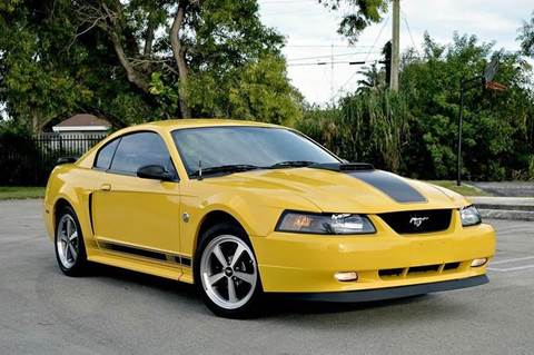 2004 Ford Mustang for sale at MIAMI IMPORTS in Miami FL