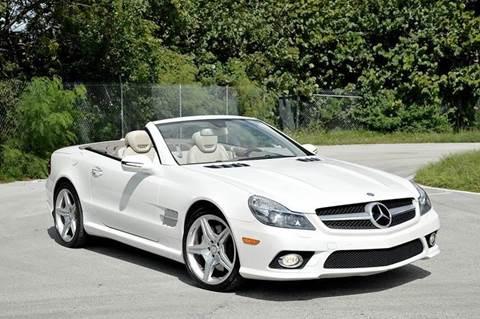 2011 Mercedes-Benz SL-Class for sale at MIAMI IMPORTS in Miami FL