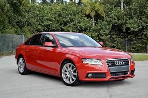 2011 Audi A4 for sale at MIAMI IMPORTS in Miami FL