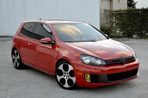 2011 Volkswagen GTI for sale at MIAMI IMPORTS in Miami FL