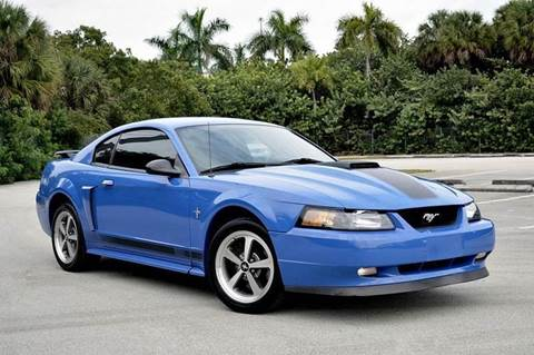 2003 Ford Mustang for sale at MIAMI IMPORTS in Miami FL