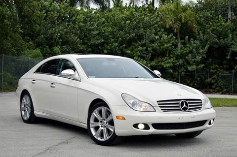 2008 Mercedes-Benz CLS for sale at MIAMI IMPORTS in Miami FL