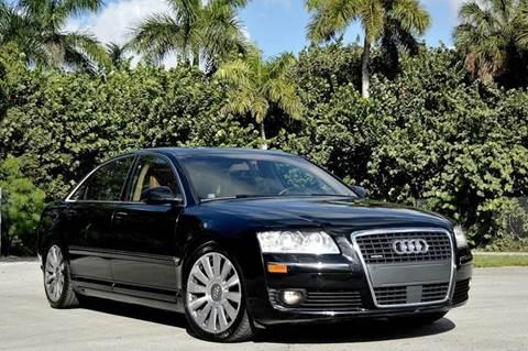 2007 Audi A8 for sale at MIAMI IMPORTS in Miami FL