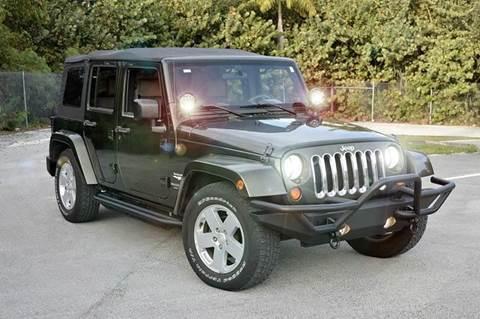 2007 Jeep Wrangler Unlimited for sale at MIAMI IMPORTS in Miami FL