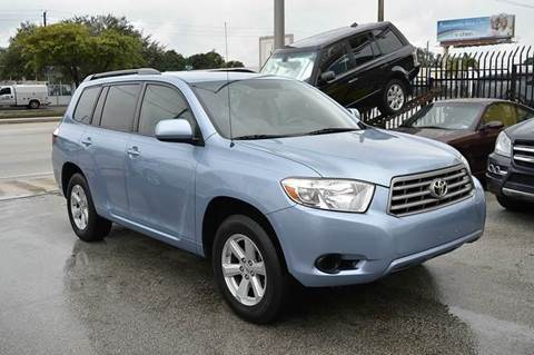 2008 Toyota Highlander for sale at MIAMI IMPORTS in Miami FL