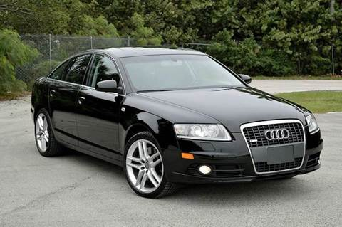 2008 Audi A6 for sale at MIAMI IMPORTS in Miami FL