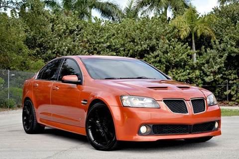 2008 Pontiac G8 for sale at MIAMI IMPORTS in Miami FL