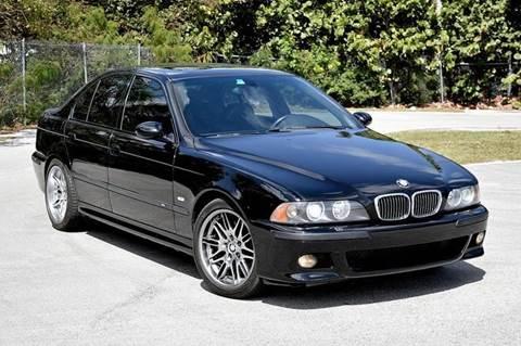 2002 BMW M5 for sale at MIAMI IMPORTS in Miami FL