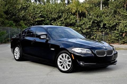 2011 BMW 5 Series for sale at MIAMI IMPORTS in Miami FL