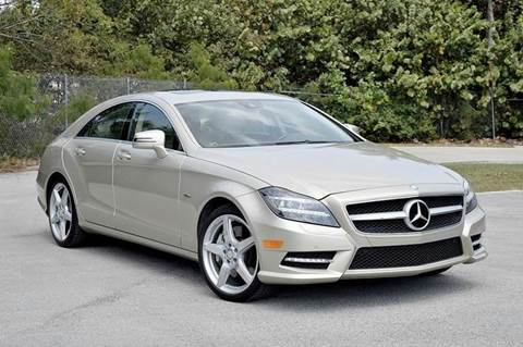 2012 Mercedes-Benz CLS for sale at MIAMI IMPORTS in Miami FL