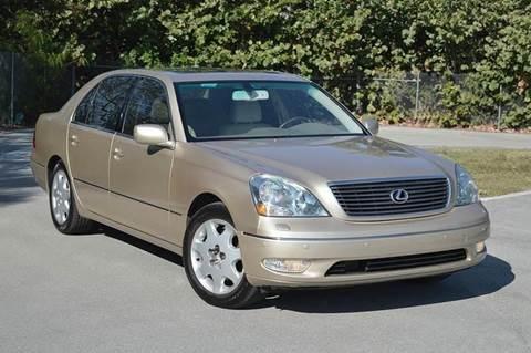 2002 Lexus LS 430 for sale at MIAMI IMPORTS in Miami FL