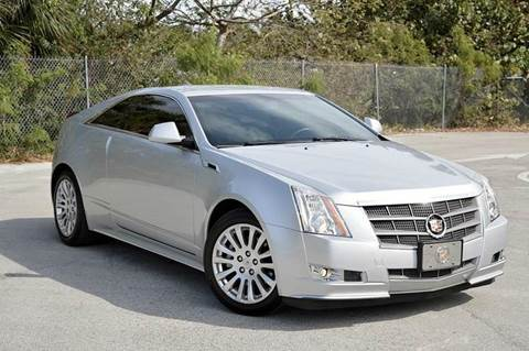 2011 Cadillac CTS for sale at MIAMI IMPORTS in Miami FL